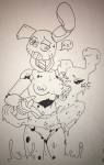 artist_parody femtrap ghost_(artist) goo goo_bon huge_breasts lesbians pussy random rule_63 springtrap  rating:Explicit score:1 user:Ghost