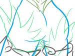 ass bird doodle feathers ffxiv final_fantasy garuda  rating:Questionable score:0 user:Felbot