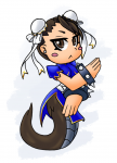 /monster/ bunyip chun-li monster_girl tagme  rating:Safe score:0 user:TISSH