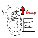 Lynn_Loud Nickelodeon The_Loud_House drinking freckles lynncoln muscles muscular_female ponytail roach_(artist)  rating:Safe score:0 user:animatedfemuscles