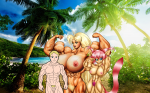 abs amy_neko_chan animal_ears balls beach beautiful bell big_breasts blonde_hair blue_eyes brother_and_sister cock dick earring family_pic flexing green_eyes hairy_pussy hairy_vagina long_hair milf muscles muscular muscular_female muscular_male naked navel nipples nude penis pink_hair pubic_hair pussy sexy smile tail testicles tetsuko vagina veins  rating:Explicit score:-1 user:MuscleFan11