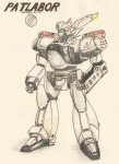 alphonse anime av-98a hi_res ingram mech mecha patlabor pencil_bro shinohara  rating:Safe score:0 user:pencil_bro