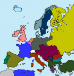 1910 austria-hungary belgium bulgaria denmark europe france germany greece italy luxembourg netherlands norway ottoman_empire portugal romania russian_empire serbia spain sweden united_kingdom  rating:Safe score:1 user:JediHDMapping