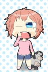 bigmatter bow cow female fully_clothed hairbow sayori short_hair solo standing  rating:Safe score:0 user:Bigmatter