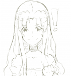 firo kaname_madoka_(cosplay) long_hair puella_magi_madoka_magica tate_no_yuusha  rating:Questionable score:0 user:shieldbro