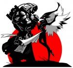 armor dahr drawfaggotry eldar helmet holding_hands inquisition lovers smile space_marine sunset swooping_hawk tagme warhammer_40k wings  rating:Safe score:0 user:11504