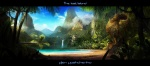 alex_kashenko_(artist) fantasy lake palmtree scenery tropical waterfall white_(artist)  rating:Safe score:0 user:Nosighter