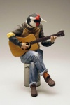 alessandro_gallo_(artist) animal_head anthro bard bird busker can character guitar jeans male modern_fantasy  rating:Safe score:0 user:hilohello
