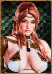 brown_eyes brown_hair elbow_gloves elf female honey_select non-human pointed_ears tagme  rating:Questionable score:7 user:illusioncards