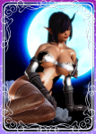 dark_skin demon horns purple_hair shadowverse  rating:Safe score:10 user:Anonymous