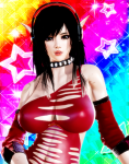 dark_eyes dark_hair elf female honey_select large_card_mod long_hair party_dlc  rating:Questionable score:15 user:elbowlick