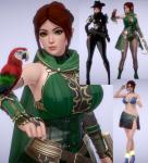 cassie female green_eyes honey_select paladins ponytail red_hair silentreader video_games  rating:Safe score:34 user:anpeg1123