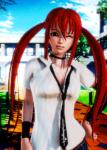 hyperdimension_neptunia orange_hair small_tits uzume uzume_tendouboshi video_games  rating:Explicit score:14 user:longbill