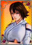 anon's_stash brown_hair female final_fantasy final_fantasy_x honey_select multicolored_eyes video_games yuna  rating:Questionable score:11 user:Anonymous