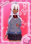 dark_elf dark_skin elf koikatsu koikatu muramasa pure sansei_muramasa soukou_akki_muramasa white_or_silver_hair  rating:Safe score:3 user:screamii