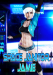 fakku female honey_select honey_select_unlimited janitor original_character sci-fi space_janitor_jamie white_or_silver_hair  rating:Questionable score:7 user:Mr._Manifesto