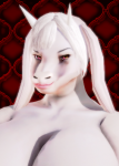 bra buffscale character chubby female furry goat goatmom horns kimono large_breasts milf mother plump request robe toriel undertale update white_skin wide_slider_mod  rating:Questionable score:2 user:Buffscale