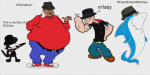 fat_albert fedora felix_the_cat jabberjaw popeye_the_sailor radioactive_uber_clan  rating:Safe score:0 user:Defaultname
