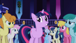 3/4 cherry_berry earth_pony front golden_harvest lyra_heartstrings medley minuette mouth_open night shoeshine standing sweetie_drops twilight_sparkle twinkleshine unicorn worried  rating:Safe score:0 user:RainbowRage