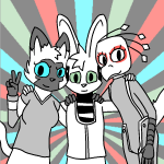 2017 annie bucky sam spacemouse(artist) the_sunfish(quest) toxoglossa(author)  rating:Safe score:0 user:quest