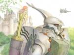 aura_battler_dunbine byston_well castle cham dunbine fairy leaves mecha river sword trees zelana  rating:Safe score:0 user:Aquarionoid