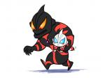 drawfaggotry super_deformed tokusatsu ultraman ultraman_belial ultraman_geed  rating:Safe score:0 user:Aquarionoid