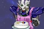 apron cake drawfaggotry exia_gundam gundam haro mobile_suit_gundam_00 setsuna_f_seiei space  rating:Safe score:0 user:Aquarionoid