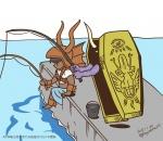 baal fishing_minigame megaten_midnight_drawing mot no_media_specified  rating:Safe score:0 user:Haken_Browning