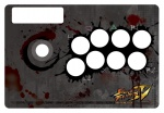 Ink_splatter madcatz standard_edition street_fighter_iv  rating:Safe score:0 user:hokagesama