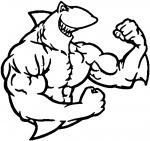 blurred first resized shark stencil treshold  rating:Safe score:-1 user:stencilbeginner