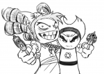 billy_and_mandy crossovers draw-fiend gertrude i_hate_fairyland image mandy  rating:Safe score:0 user:petitebrownpunk