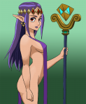 a_link_between_worlds artist:grundle colored nintendo nude pointed_ears princess_hilda purple_hair red_eyes the_legend_of_zelda  rating:Questionable score:2 user:Grundle