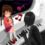 flute madotsuki piano seccom_masada spaceship yume_nikki  rating:Safe score:1 user:Snow