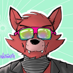 absurdres foxy nothing sunglasses  rating:Safe score:0 user:noffing_wasabi