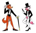 alternate_costume alternate_universe cane foxy hat high_heels hykez87 mangle rule_63 shoes showgirl  rating:Safe score:-4 user:badboygoodman