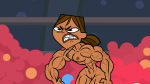 Courtney_(Total_Drama) Nixtack abs angry bodybuilder clenched_teeth dark_skin muscles muscular_female nipples nude screencaps thefranksterchannel total_drama_(series) vagina veins  rating:Explicit score:0 user:animatedfemuscles