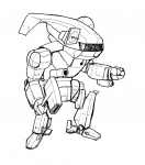 45_tons chibi cute drawing funny hatchetman mech medium pencil_bro silly  rating:Questionable score:0 user:pencil_bro