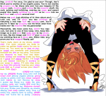 1girl artist_request bent_over blonde_hair blue_eyes caption censored_ass censored_body censored_pussy character:panty_(psg) from_behind hands_on_own_ass high_heels jerk_off_instructions long_hair looking_back mouth_open naughty_face panties panties_off sandals series:panty_&_stocking_with_garterbelt shoes silhouette_censoring skirt small_penis_humiliation smile solo upskirt  rating:Questionable score:2 user:vladulenta