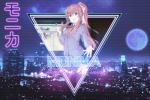 aesthetic insivel kagefumi monika retrowave solo  rating:Safe score:2 user:Insivel