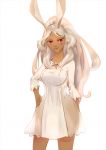34_(artist) breasts bunny_ears dark_skin final_fantasy_xii fran red_eyes  rating:Safe score:0 user:Kikimaru