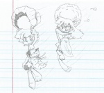 elf fangs leaf long_hair pointy_ears scared sketch  rating:Safe score:0 user:AlphaArtist