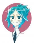 houseki_no_kuni phosphophyllite ponytail rendagn_(artist) tagme  rating:Safe score:1 user:Brawlence