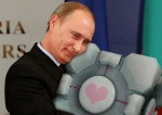 cube hug hugs oocompanioncube vladimir_putin  rating:Questionable score:1 user:Anonymous