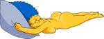 cartoon gkg marge_simpson milf sleeping the_simpsons  rating:Questionable score:0 user:DrunkenPumken