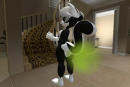 3d fart sabrina_online skunk stinky  rating:Questionable score:1 user:Stinkypony2
