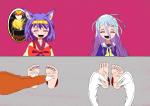 izuna_tickle no_game_no_life no_game_no_life_tickle shiro_tickle tickling  rating:Questionable score:5 user:Sawasa12