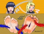2girls anime barefoot blonde_hair blue_hair cock_tease cock_throbbing attractive cute feather garimto_(artist) hinata i'm_gonna_cum i_came ino ino_yamanaka naruto soles tickling toe_ring toe_tie toes  rating:Questionable score:3 user:Discord879