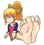 big_feet megaman roll soles toes zuneycat_(artist)  rating:Questionable score:7 user:nalla