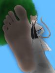 1boy big_feet feet felix_argyle giant god large_feet male_feet re:zero sole soles stomp stomping toes trample  rating:Questionable score:-5 user:PBB