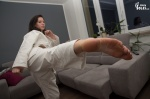 arches barefoot karate kick soles toes  rating:Safe score:1 user:Jamike